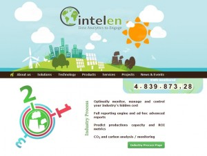Intelen Home Page