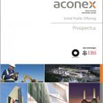 Aconex prospectus cover