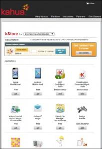 kStore from Kahua
