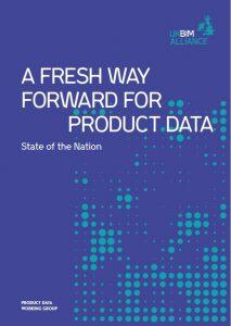 UK BIM Alliance product data report