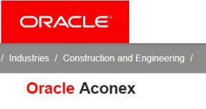 Oracle Aconex 'logo'