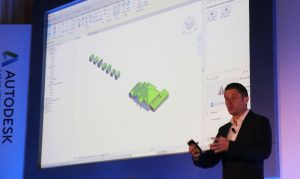 Richard Parker, speaking at Autodesk's Connect and Construct event