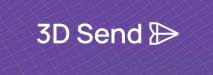 3D Send logo