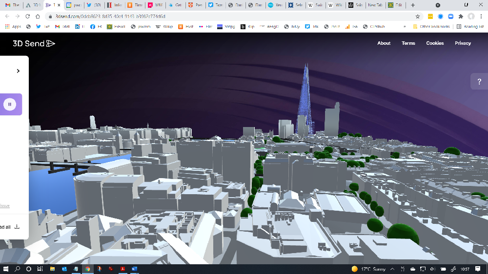 3DRepo Send - London Shard