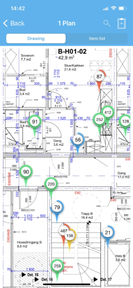Checkd floorplan