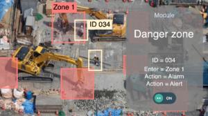 viAct Danger Zones Alert