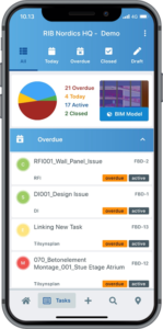 RIB Connex mobile workflows